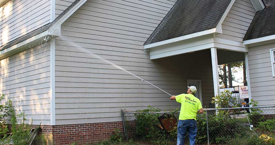 Pro Or DIY Pressure Washing